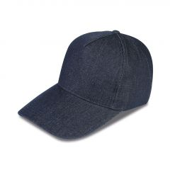 CAPPELLINO 5 PANNELLI IN 100% JEANS